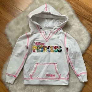 Disneyland princess hoodie sweatshirt extra small
